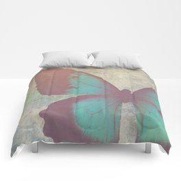 Painted Butterfly Comforters