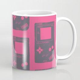 Game Boy on pink Coffee Mug