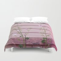 finland Duvet Covers featuring Porvoo I- Finland by Cynthia del Rio
