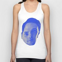 chad wys Tank Tops featuring Bad Chad Head by Blake Makes Tees