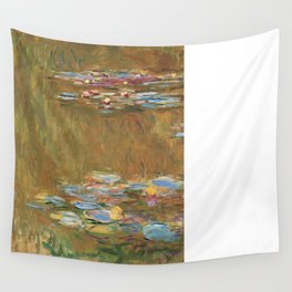 The Water Lily Pond by Claude Monet Wall Tapestry
