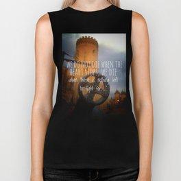 Tower of faith Biker Tank