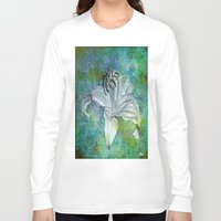 lily Long Sleeve T-shirts featuring Lily by Saundra Myles