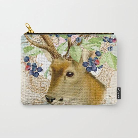 Winter animal #13 Carry-All Pouch