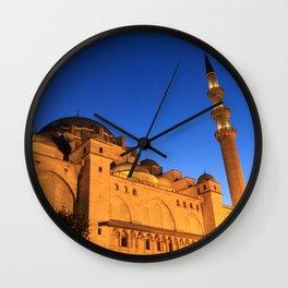 Suleymaniye mosque in istanbul Wall Clock