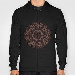 Black & Tan Floral Regal Mandala Hoody