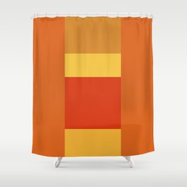 Tequila Sunrise No. 4 Shower Curtain