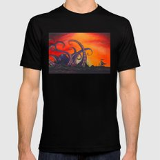 The Fight Black MEDIUM Mens Fitted Tee
