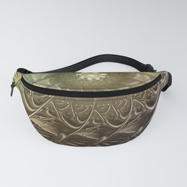 Togetherness, Fractal Art Abstract Fanny Pack