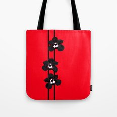 Black Orchids Tote Bag