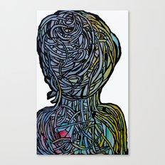 Windower White Canvas Print
