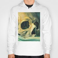 oil Hoodies featuring Civilizations Oil Painting by Thubakabra