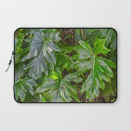 Luscious Green Rainforest Vine Laptop Sleeve