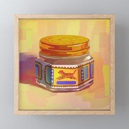 Tiger Balm Framed Mini Art Print