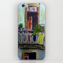 Cuban Balcony iPhone Skin