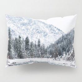 Winter landscape Pillow Sham