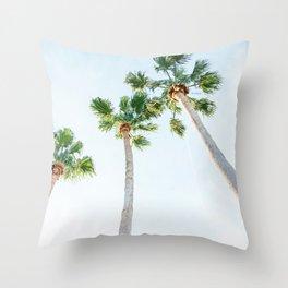 PALM TREES   ST. PETE, FL Throw Pillow