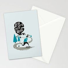 Less work more skate!! Stationery Cards