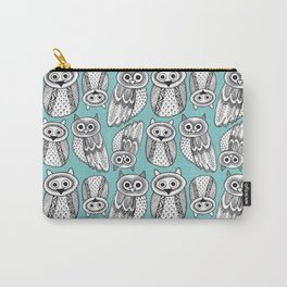 Hand dravn Cute Owl Carry-All Pouch