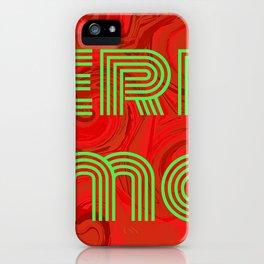 Merry Xmas 1 iPhone Case