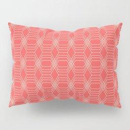 hopscotch-hex sherbet Pillow Sham