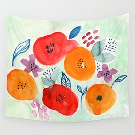 Abstract Garden No. 1 Wall Tapestry