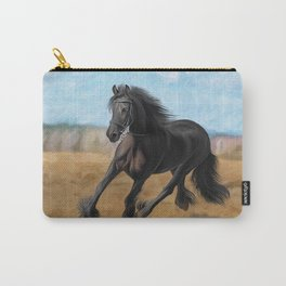 Drawing horse Carry-All Pouch