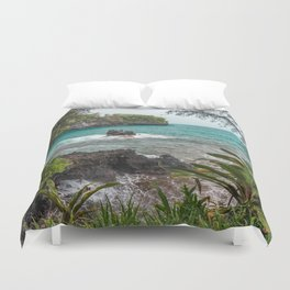 Hawaiian Turquoise Cove Duvet Cover