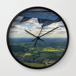 Leaving in search of Adventure Wall Clock