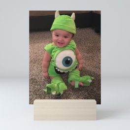 Mike Wazowski Baby Roles Mini Art Print