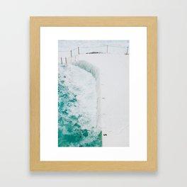 Bondi Icebergs 02 Framed Art Print