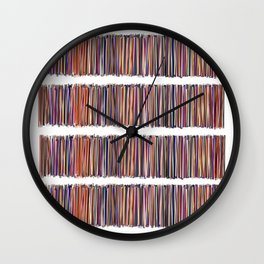 Lines x four Wall Clock