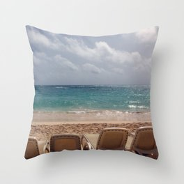 View from the Beach Throw Pillow