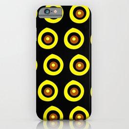 Evil Eye Pattern iPhone Case