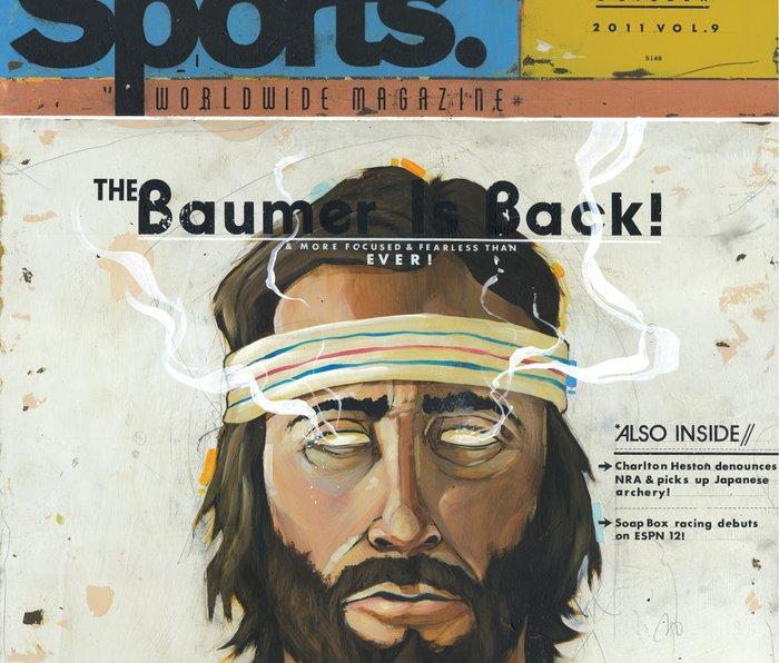 """The Greatest Magazine Never Made"" Metal Travel Mug"
