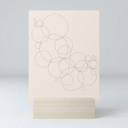 Abstract Composition - Simple & Nice Mini Art Print