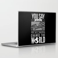 revolution Laptop & iPad Skins featuring Revolution.  by Creation Factory