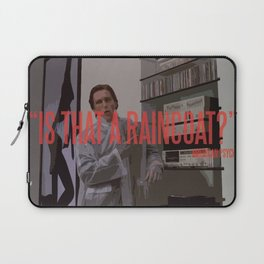 Raincoat Laptop Sleeve