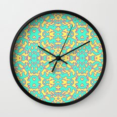 Electric Pattern Wall Clock
