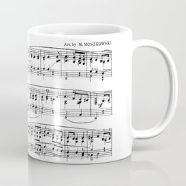 Mendelssohn Classical Sheet Music Coffee Mug