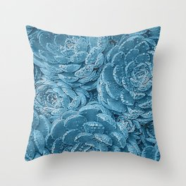Lace Succulent 2 Throw Pillow