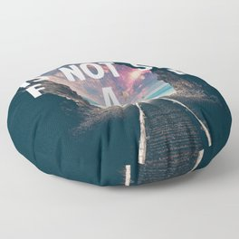 Take Me To Neverland Floor Pillow