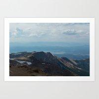 Pikes Peak, Colorado Art Print