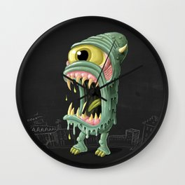 Meltmouth the Monster Wall Clock