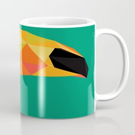 Toucan Bird artwork Geometric Tropical birds Brazil Coffee Mug