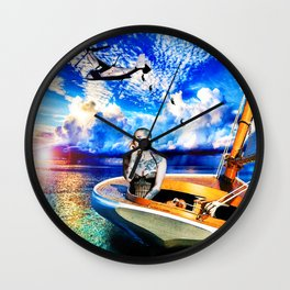 Dawn-Treader Wall Clock