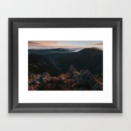 Evening Mood - Landscape and Nature Photography Framed Art Print