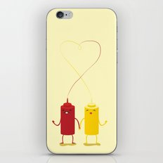 party couple iPhone & iPod Skin