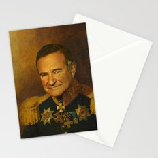 Robin Williams - replaceface Stationery Cards
