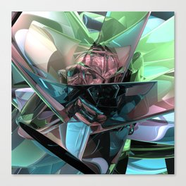 Colorful 3D Reflections Canvas Print